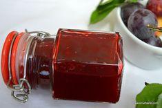 Marmeladă de corcodușe rețeta de pastă fină, jeleu | Savori Urbane Canning Pickles, Pasta, Crackers, Sauces, Mason Jars, Mugs, Tableware, Desserts, Canning