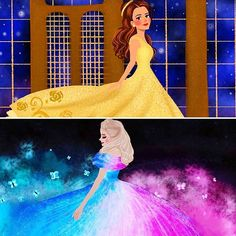 Amazing illustration from the page @illustrationsbydil love this!! Please follow this amazing page and @disneyartkingdom @disney_magic_universe @_the.enchanted.rose @bridgetw_artist @our_wonderful_worlds GREAT PAGES!!!!! And all the pages tagged❤ . . . #cinderella2015#beautyandthebeast2017 #beautyandthebeast