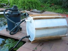 Diy pond vacuum ponderings pinterest diy pond and for Duck pond filtration