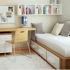 smart space small room decor ideas for when youre short on space box room office ideas