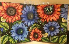 Just flowers, this took so long but I loved doing this one. #mariatrolle…