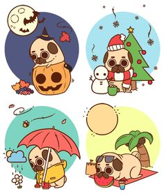 Seasons of Puglies :] Do you have a favourite?