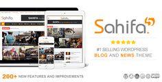 The best WordPress Themes: Sahifa - Responsive WordPress News Magazine Newspaper Theme