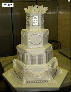 White Silver Cake Boss like