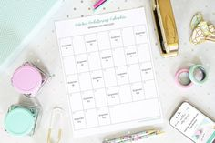 Free printable calendar pages, binders, planner pages, goal setting sheets, and more can help you organize your life and increase productivity! Printable Calendar Pages, Printable Planner, Free Printables, Printable Recipe, Goal Setting Sheet, Home Binder, Budget Binder, Student Binders, How To Make Labels