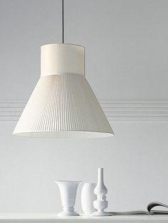 lampada a sospensione moderna (tessuto) AUDREY by Edward Van Vliet Casamilano d.70h.60