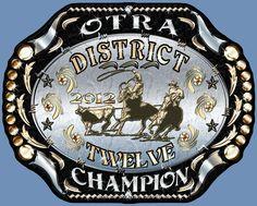 OTRA District 12 Team Roping Champion