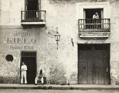 Walker Evans. American, 1903–1975 'Old Havana Housefronts' 1933