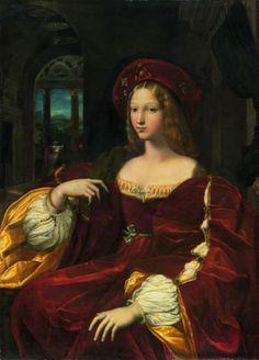 Doña Isabel de Requesens y Enríquez de Cardona-Anglesola - Raphael