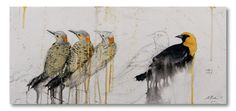 Michael Dickter -This is his site, the paintings are amazing!