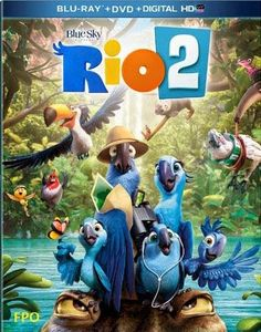 IMG Credit for Rio 2 BluRay Cover to bluray.com
