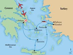 7 Day Athens with 3 Day Iconic Aegean Cruise,Greece Tours, Greece Vacation - Virgin Vacations