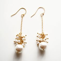 Fab.com   Pearl Sway Earrings