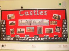 Castle Display, Classroom Display, class display, history, castles, flag, turret, protection, battle, old, Early Years (EYFS), KS1 & KS2 Primary Resources