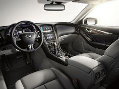 Infiniti Q50 interior seats