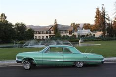 1963 impala lowriders | Rollin On Og 13x7 72 Spoke Daytons, Full Undies And Motor, Driving My ...