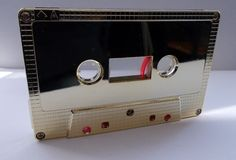 Audiokassetten C0 GOLD für Chrome Band mit Hülle MC Ersatz Tape Cassetten Deko