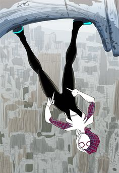 Gwen Stacy: Spider-Woman by rollindeepwith3cheeses