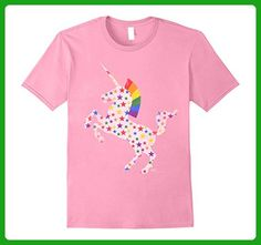 Mens Totally Straight Unicorn Gay Pride T Shirt for Men and Women 3XL Pink - Fantasy sci fi shirts (*Amazon Partner-Link)