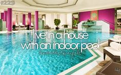 I would probably slip into the pool a lot :p