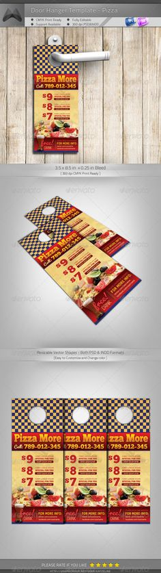 Get Your DieCut Door Hanger Exactly In The Shape Which Your