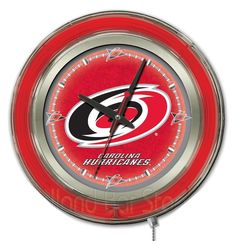 Use this Exclusive coupon code: PINFIVE to receive an additional 5% off the Carolina Hurricanes Neon Logo Clock at SportsFansPlus.com