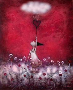 Art from the heart by Amanda Cass - ego-alterego.com