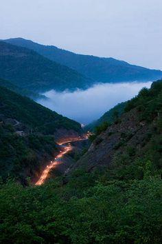 The Road To Massuleh, the historic village of Massuleh (massooleh) in north of Iran