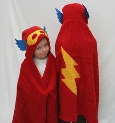superhero towel cap
