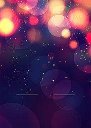 Dream Night Light Effect Background