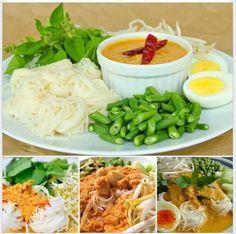 แจกสูตร ขนมจีนน้ำยากะทิสูตรโบราณ | สูตรอาหาร จานโปรด