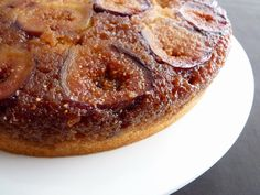 Upside Down Fig Cake | pastry studio