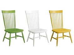 Best Ensemble Cast  - HGTV Magazine's 2014 Furniture of the Year Awards on HGTV. Bassett painted Windsor chair.