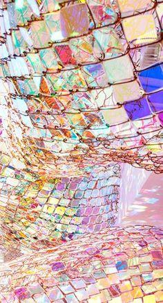 Capturing Resonance - installation by Soo Sunny Park Modern Art, Contemporary Art, Light Installation, Kandinsky, Land Art, Art Plastique, Light Art, Public Art, Artsy Fartsy