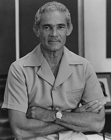 MICHAEL MANLEY: Prime Minister of Jamaica: 10 February 1989 – 30 March 1992    Born:	10 December 1924 Saint Andrew, JA. Died:	6 March 1997 (aged 72).   Kingston, Jamaica Nationality	Jamaica Political party	People's National Party Alma mater	London School of Economics  Military service Allegiance	Canadian Red Ensign 1921-1957 Canada,	Royal Canadian Air Force Ensign (1941-1968)Royal Canadian Air Force 1943-1945 Rank:Pilot officer Battles/wars	World War II