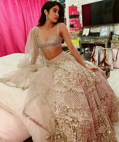 Unique Bridal Lehenga designs that is every Bride's pick in Indian Lehenga, Indian Gowns, Indian Attire, Pakistani Dresses, Indian Wear, Indian Bridal Outfits, Indian Designer Outfits, Designer Dresses, Indian Designers