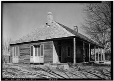 1.  Historic American Buildings Survey Lester Jones, Photographer February 28, 1940 SLAVE HOSPITAL FROM THE SOUTHWEST - Melrose Plantation, Slave Hospital, State Highway 119, Melrose, Natchitoches Parish, LA