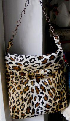 Borsa leopardata BirBetty
