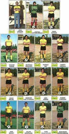 Michel Platini, Psg, Betta, Dominique Rocheteau, Alain Giresse, Racing Club De Lens, Fc Nantes, Football Stickers, Vintage Football