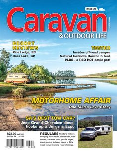 March 2014 edition of Caravan & Outdoor Life is out now! Check our website for sneak peaks of the articles. Camping Checklist, Camping Essentials, Jeep Grand Cherokee Diesel, Bass Lake, Off Road Camper, Port Elizabeth, Vintage Caravans, Natural Instinct, Winter Camping