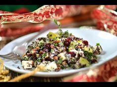 Quinoa navideña con avellanas, manzana y arándanos al estilo de Sonia Ortiz por Cocina al natural