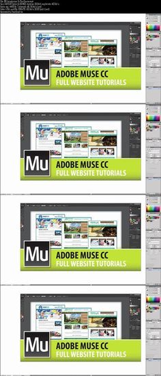 Udemy - Adobe Muse - Full Website Tutorials From Start To Finish