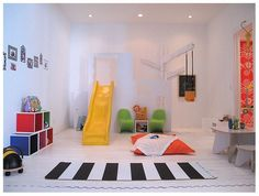 mommo design: indoor slides