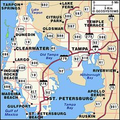 Map Of Florida Bays.19 Best Tampa Bay Maps Images Maps Blue Prints Cards