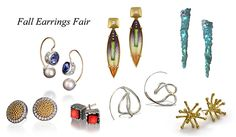 Fall Earrings Fair 9/26-10/6, Contemporary Jewelry | Artners Gallery