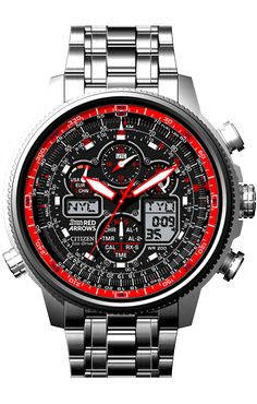 Citizen Navihawk Red Arrows Limited Edition Watch JY8040-55E