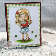 Little Miss Muffet Challenges: Polka Dot Pals Add-on Faces Day 3