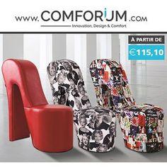 Fauteuils design - Posez-vous avec du style - www.comforium.com  #Design #Actu #Bonplan #Discount #Vendredi