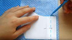 Výroba efektivní roušky snadno a rychle. Stačí kousek látky a nitě - Svět kreativity Plastic Cutting Board, Homemade, Fashion Illustrations, Videos, Fitness, Alphabet, Sewing Techniques, Sewing Patterns, Embroidery Ideas