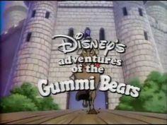 Gummi Bears Intro Theme Song {afternoon cartoon} // & early Childhood Memory my fav kids show Disney Songs, Disney Music, Disney Movies, 90s Childhood, My Childhood Memories, Intro Youtube, Walt Disney Records, Adventures By Disney, Classic Cartoons